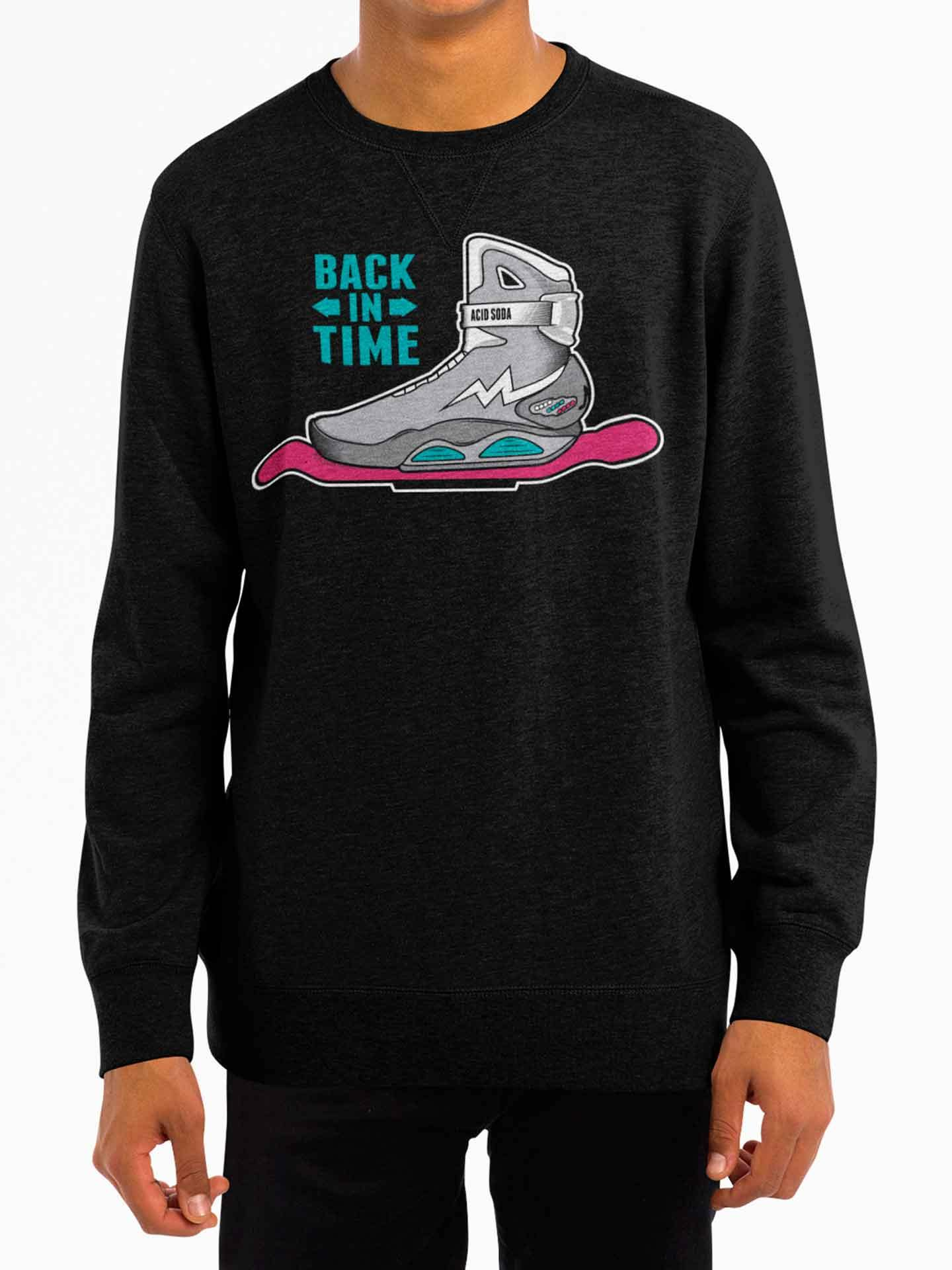Sudadera Back In Time (Hombre) - Acid Soda
