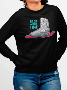 Sudadera Back In Time (Mujer)