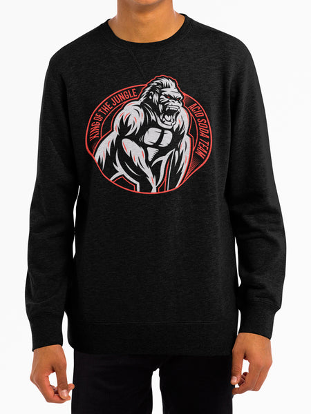Sudadera King of the jungle (Hombre)