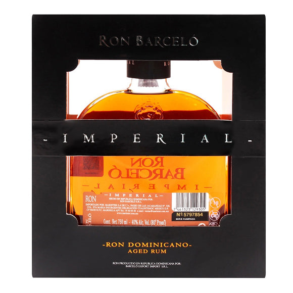 Barceló - Ron  Imperial de 750 ml - República Dominicana