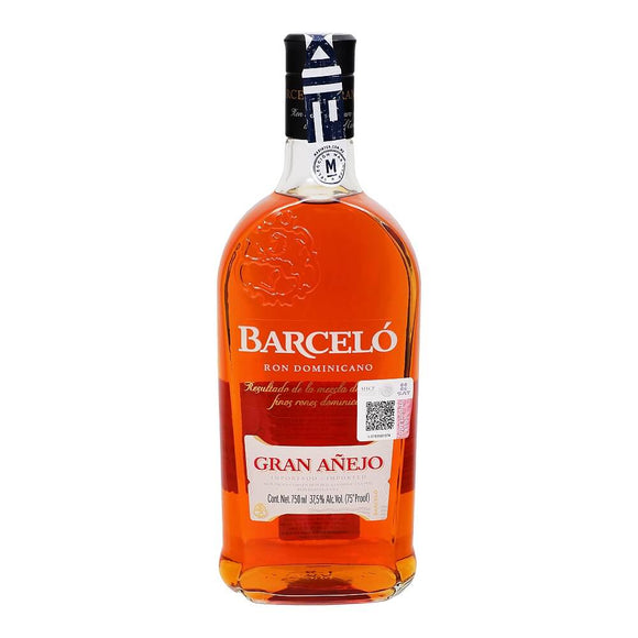 Barceló - Ron Gran Anejo de 750 ml - Republica Dominicana