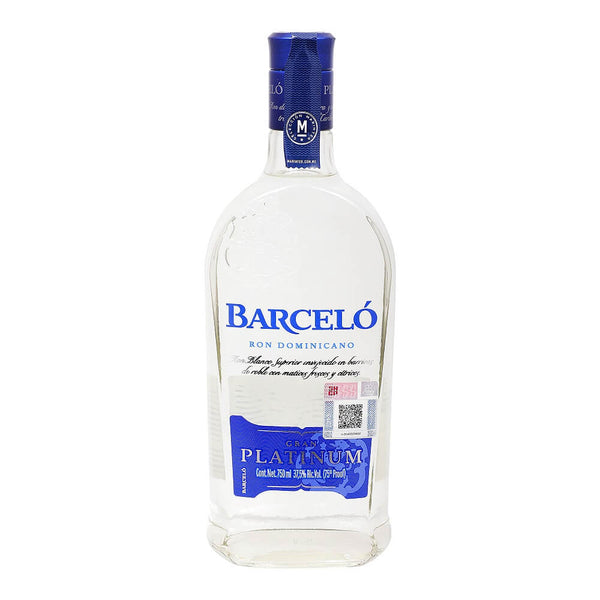 Ron Blanco Barcelo Gran Platinum de 750 ml