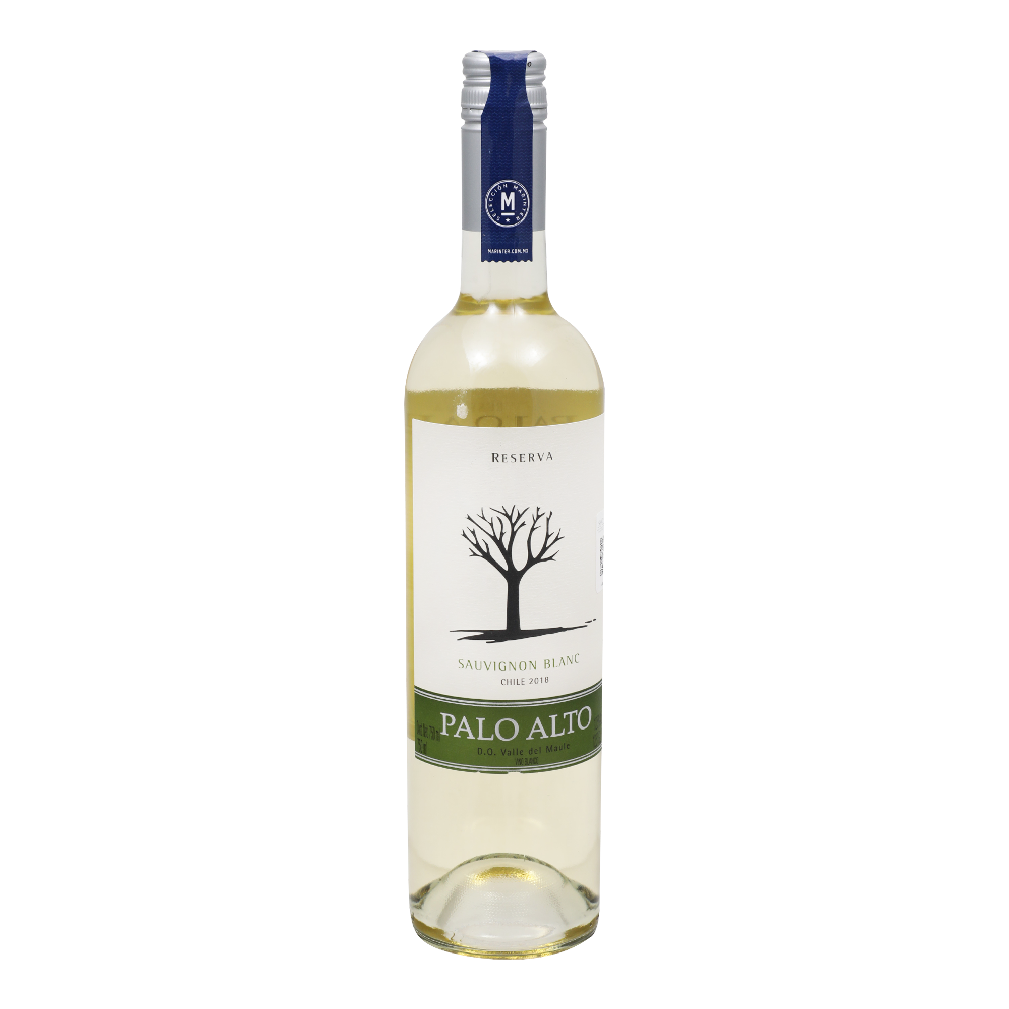 Vino Blanco -  Palo Alto - de 750 ml - Chile