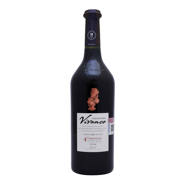 Vino Tinto Vivanco Coleccion 4 Varietales de 750 ml
