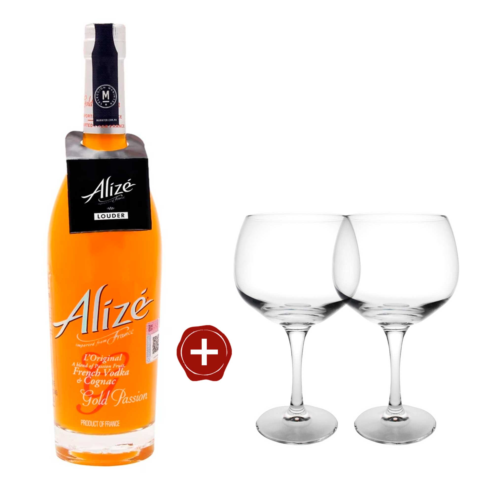 Alizé - Licor de Fruta - Gold Passion de 700 ml