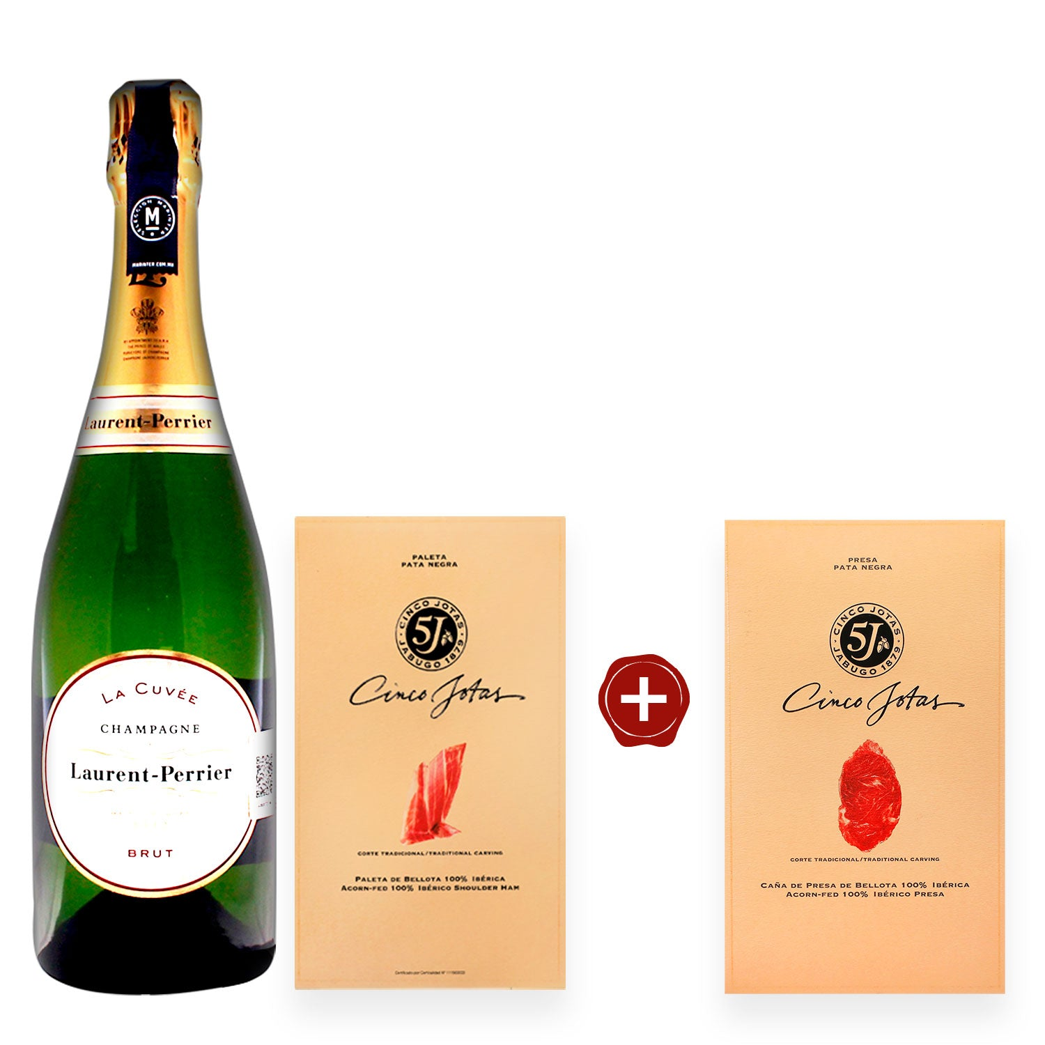 Paquete Champagne Laurent-Perrier