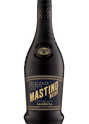 Licor de Sambuca Mastino Nero de 700 ml