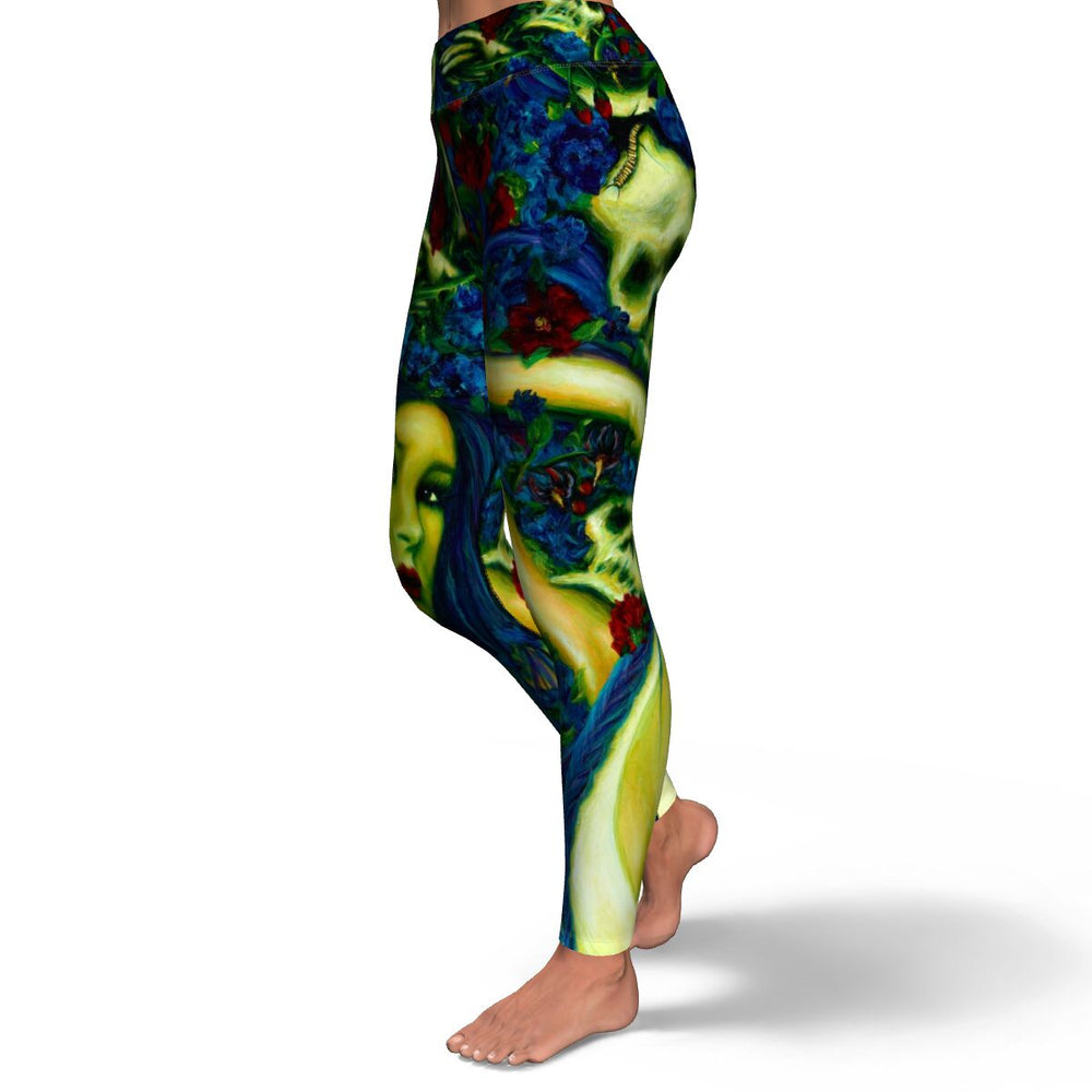 Belladonna AKA Deadly Nightshade Yoga Pants