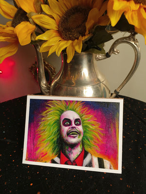 Babes - Beetlejuice Canvas Print