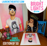 Bright Lights 16x20 Inch Signed Limited Edition Giclee Print