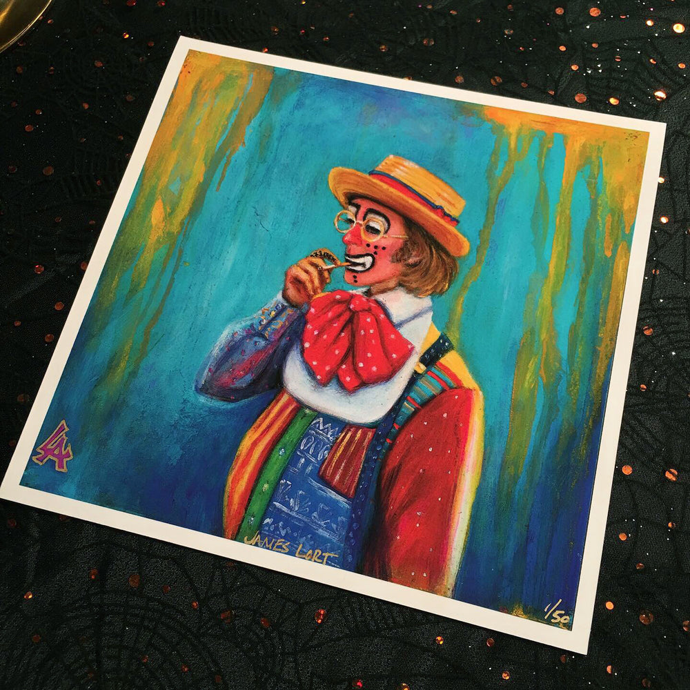 "Portrait of ""James Lort"" Honey Boy - Signed and Numbered Print"