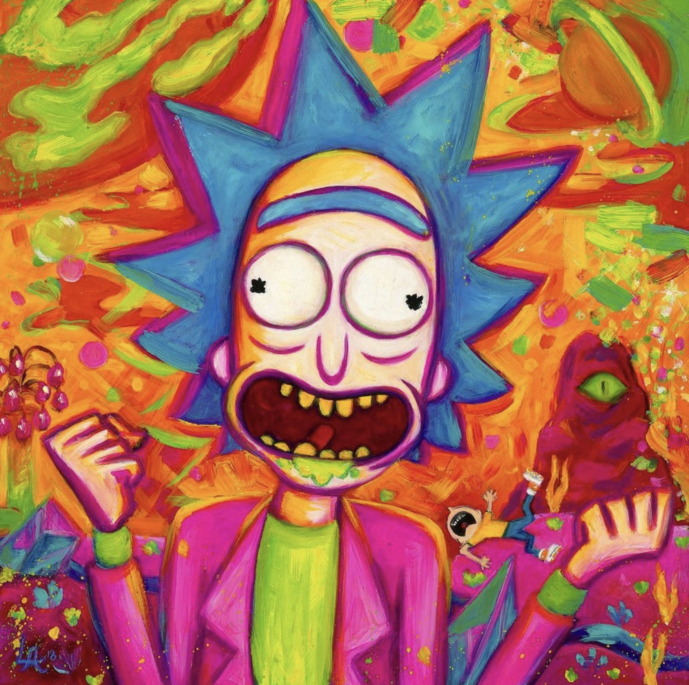 Rick and Morty Time! Print