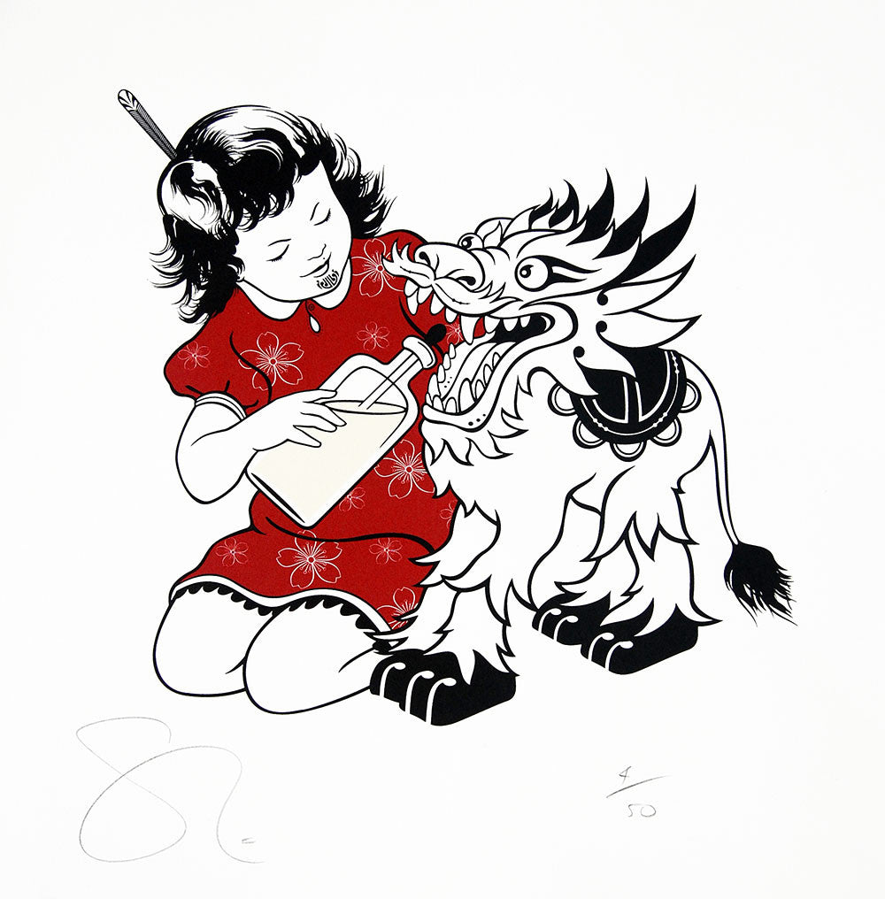 Limited Edition Print by Shane Hansen: Pania & Dragon