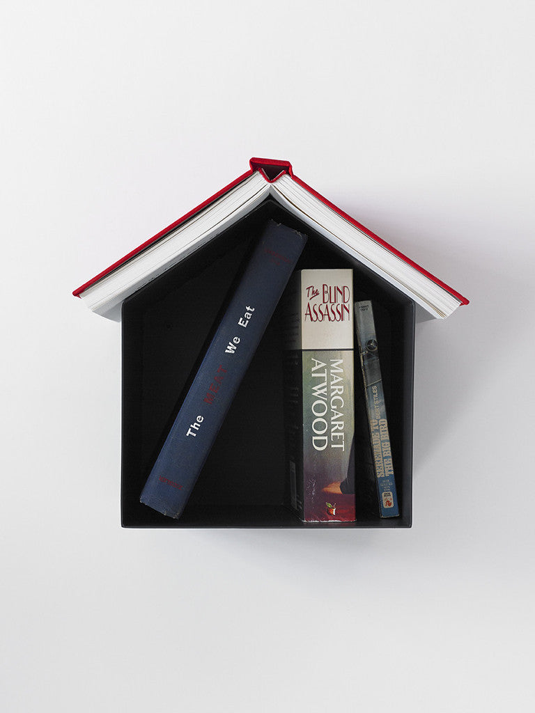 Birdhouse Bookshelf, by Thing Industries