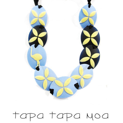 Tania Tupu Tapa Tapa Moa Necklace