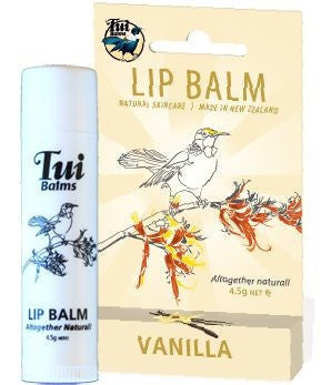 Tui Balms - Vanilla or Spearmint lip balm stick