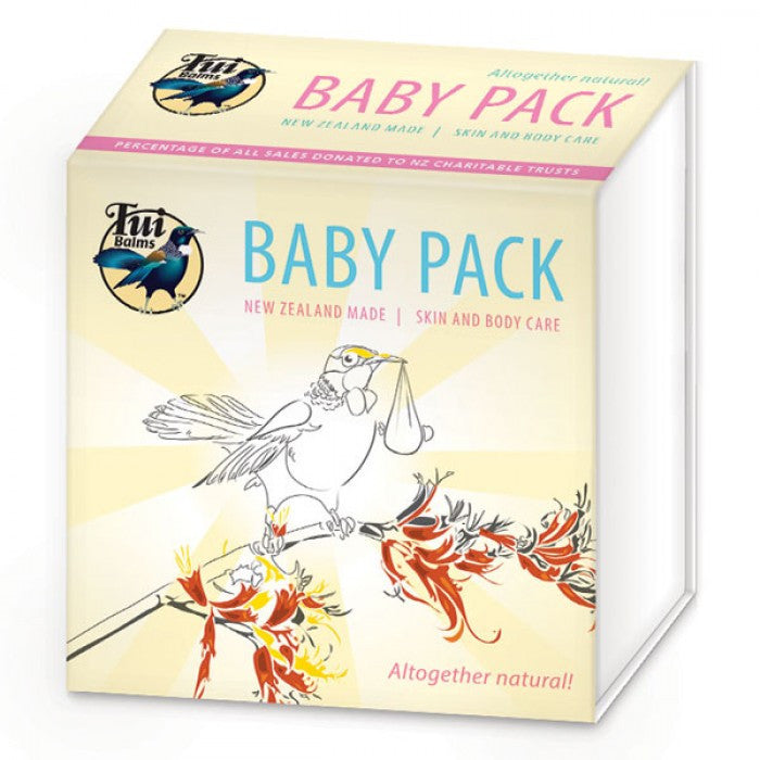 Tui Balms - Baby Pack 4 x 25g pots