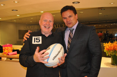 Rugby World Cup Champion Michael Jones & Kevin Roberts