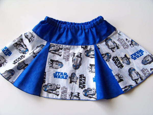 Star Wars Size 3 R2D2 Skirt