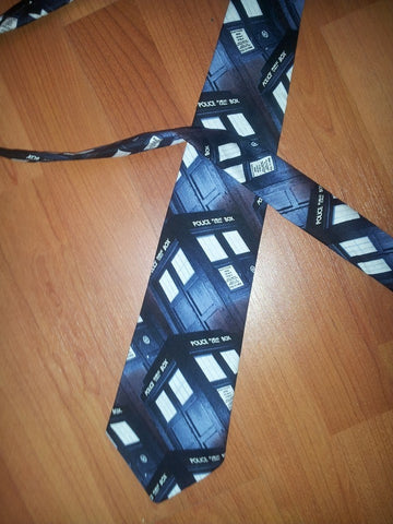Dr. Who Adult Tie