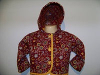 girls 18/ 24 month toddler boutique quilted jacket one of a kind great for fall