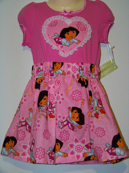 boutique dora two piece skirt set perfect for birthdays