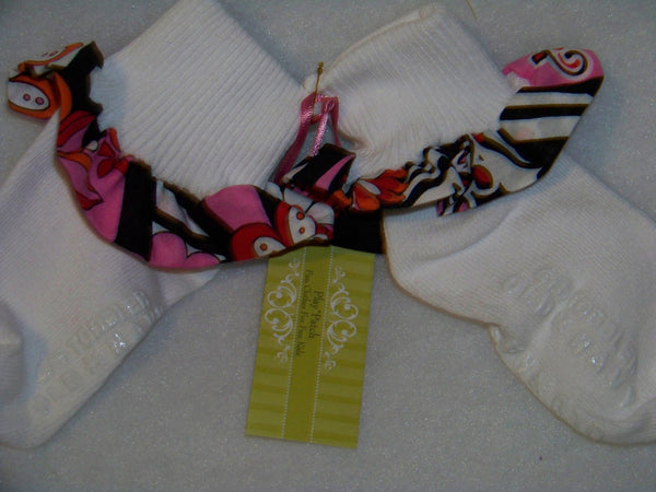 zebra and flowers ruffled socks boutique ruffle sock