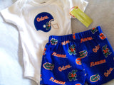 Gators short set