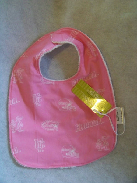 UF Gators bib university of florida pink bib