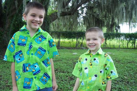 custom boutique walle and eve boys button up camp shirt wall e childrens shirt
