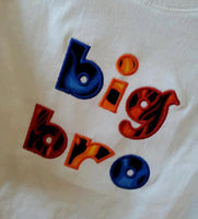 custom boutique big sis lil sis big bro lil bro flame shirt fire