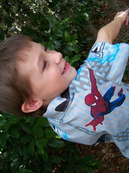 spiderman custom boutique you pick the fabric boys shirt spider man venom shirt