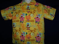 sponge bob square pants and patrick custom boutique boys shirt baby toddler boy children