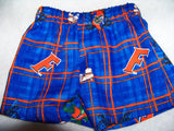 florida gators 2 piece boys UF orange and blue football helment university of florida shorts set