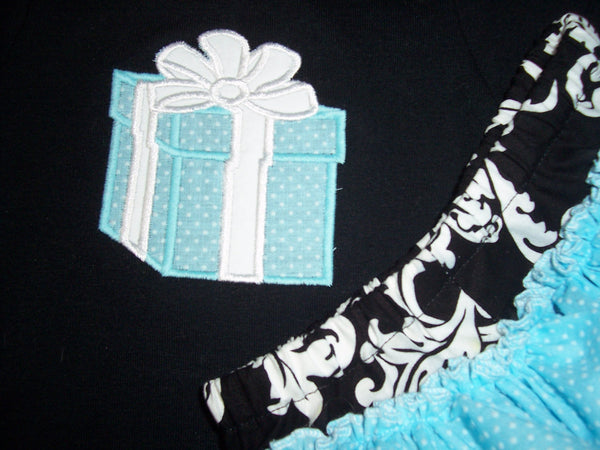 breakfast at tiffany's inspired shirt personalized shirt  little blue gift box