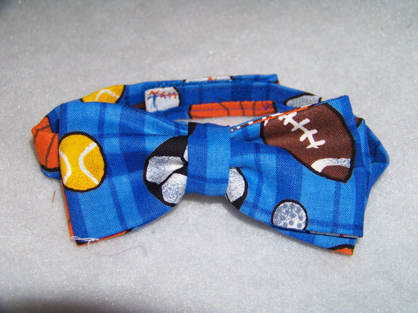 Ball themed child sized bowtie ball game bow tie football ,baseball,socar