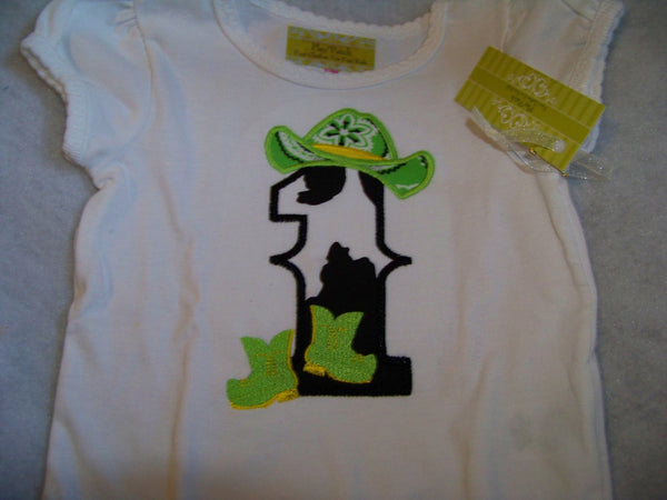 Birthday cowgirl bodysuit girls party animal first birthday 1st birthday