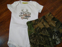 it's hunting season have you seen my daddy and camo shorts set hunting boys camouflage outfit