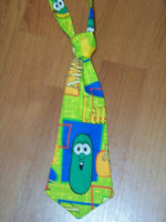 veggietales tie easy on/off tie for babies and toddlers necktie veggie tales bob larry jr
