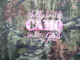 silly boys camo is for girls peasant shirt camoflauge baby toddler peasant shirt