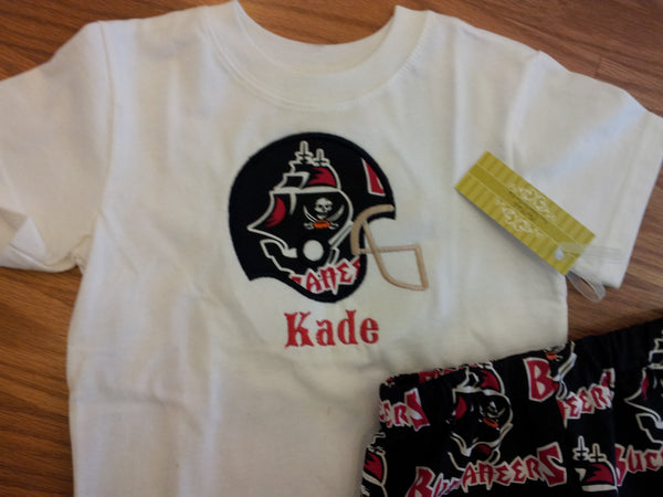 personalized tampa bay bucs football helmet t shirt buccaneers shirt