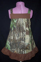 Camo ruffle dress camo jumper camoflauge jumper dress