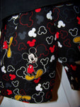 MR Mouse two piece personalized Mickey Mouse inspired boys short set