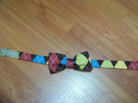 fall colors  child sized bowtie dress up bow tie