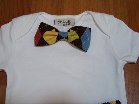 Bow Tie Shirt boys bowtie  shirt great baby shower gifts