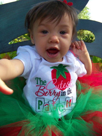 Strawberry Shirt for the cutest berry in the patch