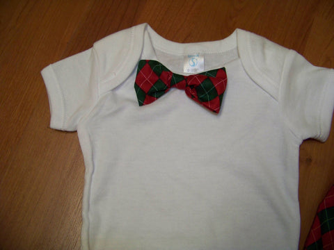 christmas bowtie shirt   boys bowtie  shirt great baby shower gifts