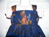 Bethlehem Christmas dress set Two piece dress set Christmas dress Three King Dress