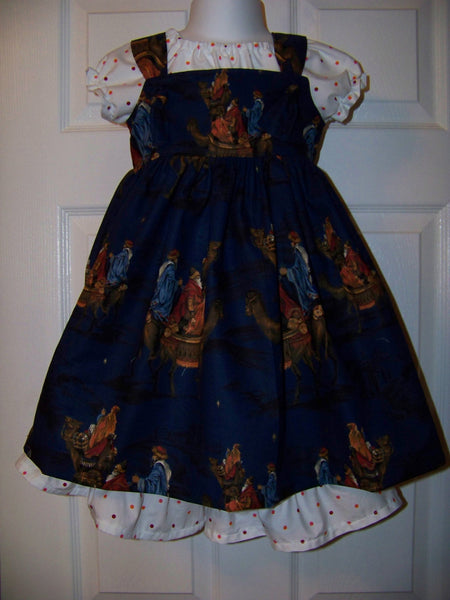 Bethlehem Christmas dress set Three piece dress set Christmas dress Three King Dress