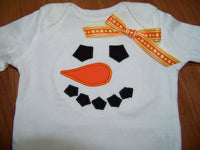 snowman inspired winter Shirts for Twins or Siblings